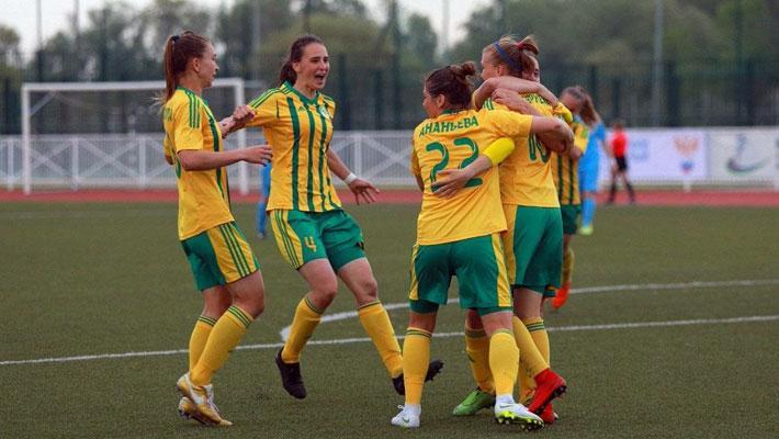 Женская команда «Краснодар» свой первый матч проведет в «Гиганте»